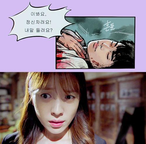 """het tat, han hyo joo lai nhao toi hon lee jong suk trong """"hai the gioi"""" - 7"""