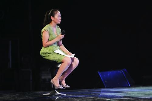 "thu minh thanh lich lam ""co giao"" cho thi sinh vietnam idol - 3"
