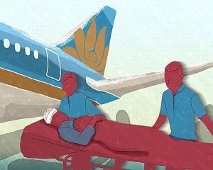 chuyen bay chuyen benh nhan dac biet cua vietnam airlines - 1