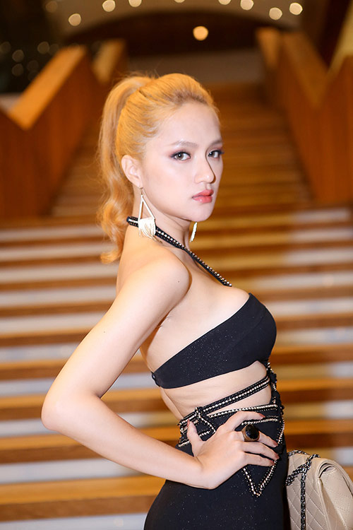 "huong giang idol thay doi ""chong mat"" ve ngoai hinh - 8"
