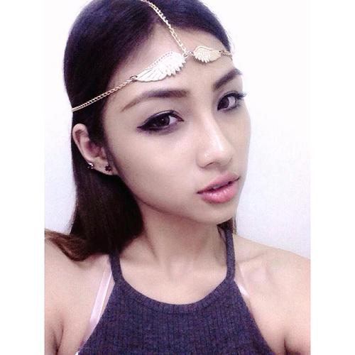 hot girl hoc vien hang khong tu hao khoe vong 3 dep den phat ghen - 6