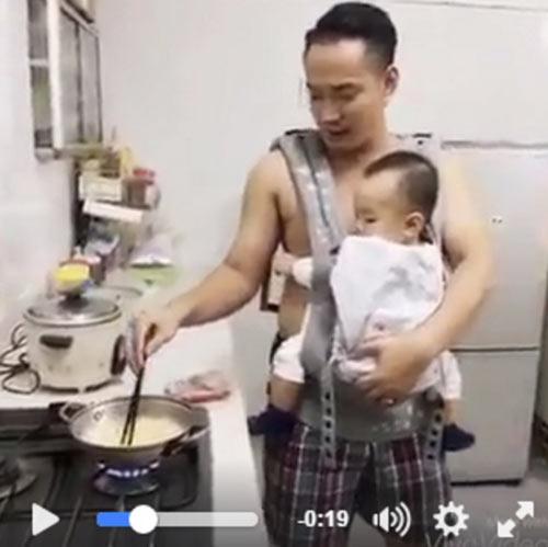 co vo nuoi con nhan tenh vi chong san sang 'thuc dem cham con de vo ngu' - 3