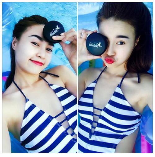 hot girl viet 'phat sot' voi trao luu my pham thai - 1