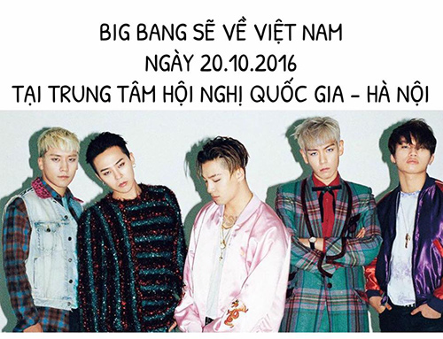 big bang bat ngo to chuc fan meeting tai ha noi vao thang 10 - 1
