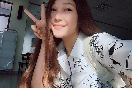 the face viet nam: thi ra da tung co mot diep linh chau toc dai khac la den the - 5