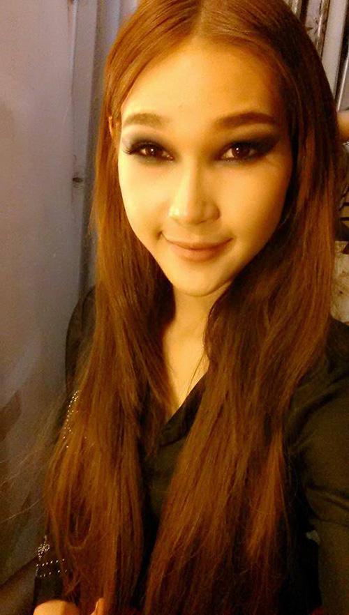 the face viet nam: thi ra da tung co mot diep linh chau toc dai khac la den the - 10