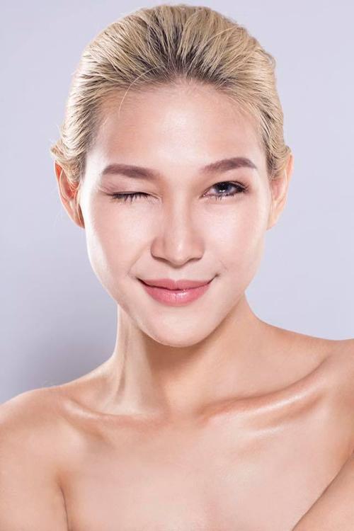 the face viet nam: thi ra da tung co mot diep linh chau toc dai khac la den the - 1