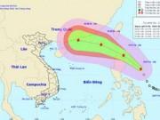 Tin tức - Áp thấp nhiệt đới đã mạnh lên thành bão, hướng vào Biển Đông