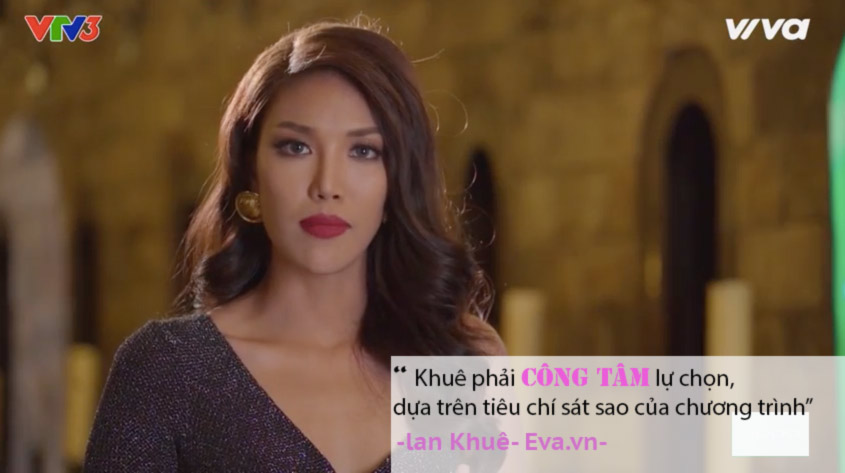 "the face tap 7: ha ho, lan khue ""tra thu"" pham huong nhu the nay day! - 5"