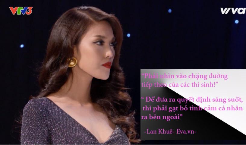 "the face tap 7: ha ho, lan khue ""tra thu"" pham huong nhu the nay day! - 6"