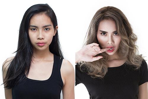 mai ngo la 1 trong 3 vu cong tung nao loan next top model - 9