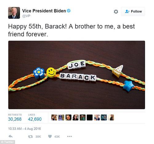 lòi chúc sinh nhạt cua ba obama dành cho chong tren twitter hut tram nghin luot 'like' - 3