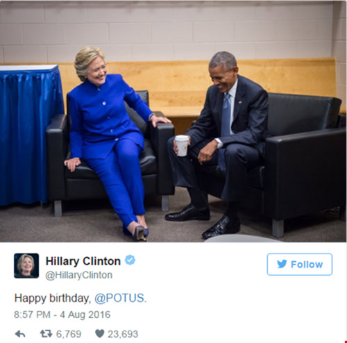 lòi chúc sinh nhạt cua ba obama dành cho chong tren twitter hut tram nghin luot 'like' - 4