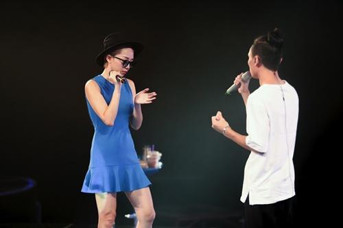 "toc tien goi cam, ""quay tung"" cung thi sinh vietnam idol 2016 - 15"