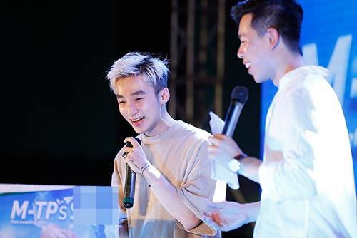 """mac scandal """"dao nhac"""", son tung van vui ve hop fan o que huong thai binh - 2"""
