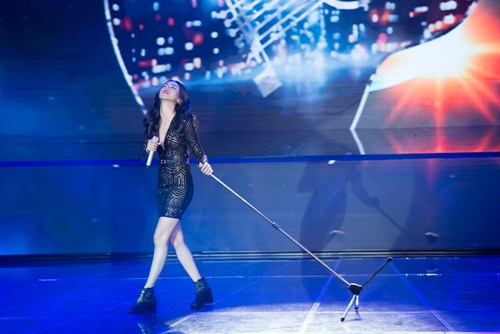 "x-factor: khanh thi xuat hien goi cam - minh nhu ""gay sot"" voi hit cua hari won - 14"
