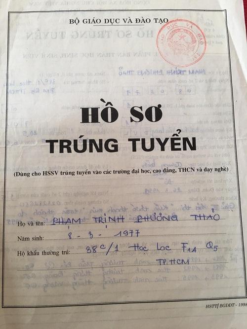 thanh thao tung hoc nhieu truong dai hoc nhung khong tot nghiep truong nao - 5