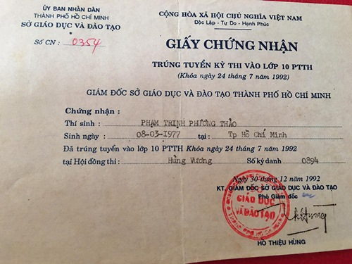 thanh thao tung hoc nhieu truong dai hoc nhung khong tot nghiep truong nao - 11