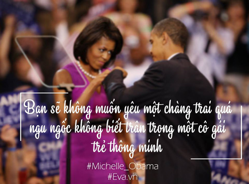 10 cau noi an tuong cua phu nhan tong thong my khien moi phu nu deu nguong mo - 7