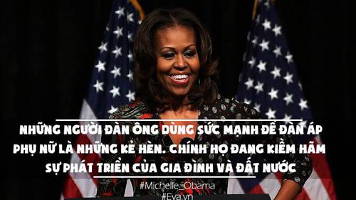 10 cau noi an tuong cua phu nhan tong thong my khien moi phu nu deu nguong mo - 10