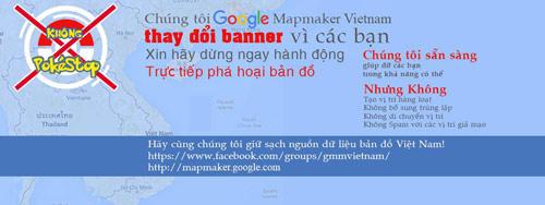 canh bao nguoi choi pokemon tu y them dia diem ao vao ban do vn tren google - 1