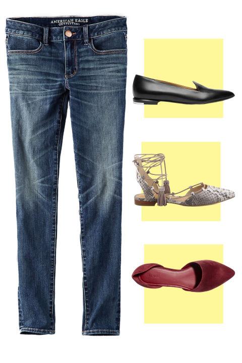 7 mau giay dep ket hop tuyet dinh cho chiec quan jeans mua thu - 3