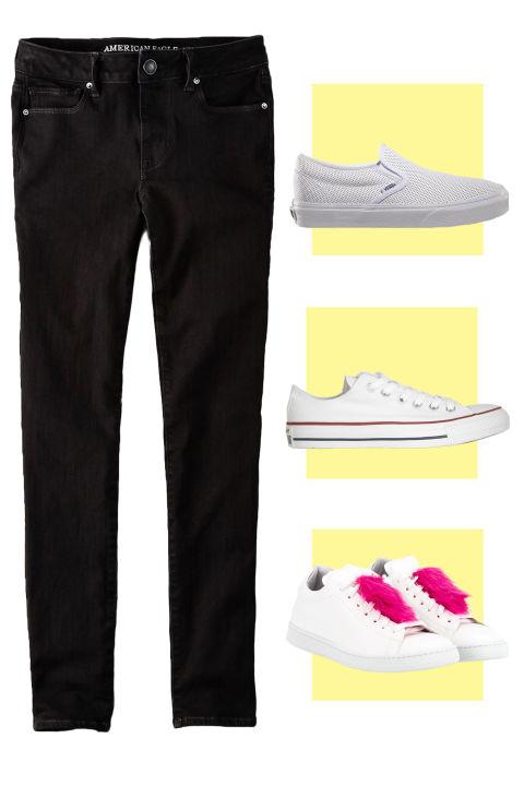 7 mau giay dep ket hop tuyet dinh cho chiec quan jeans mua thu - 4