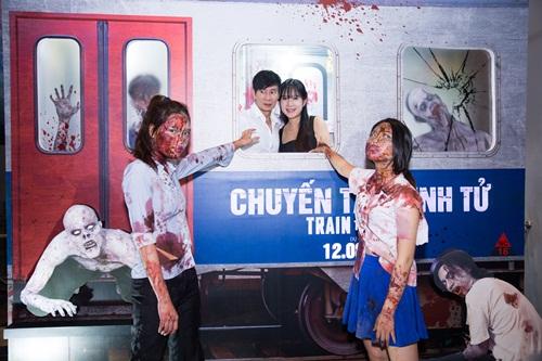 """vo chong ly hai - minh ha """"het hon"""" khi len chuyen tau sinh tu - 2"""