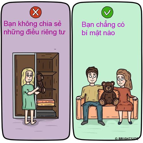 bo tranh chung minh su khac biet giua nguoi hanh phuc va nguoi bat hanh trong hon nhan - 3