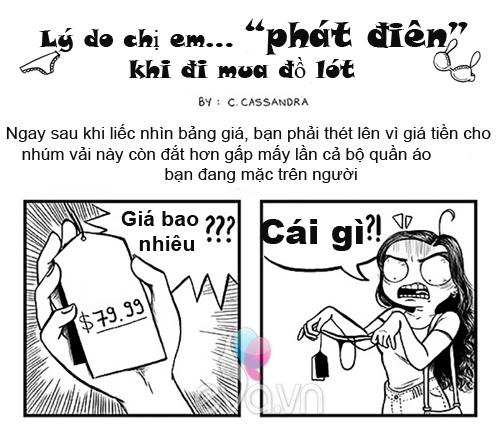 """ly do chi em """"phat dien"""" khi di mua sam ma khong dan ong nao hieu duoc - 1"""