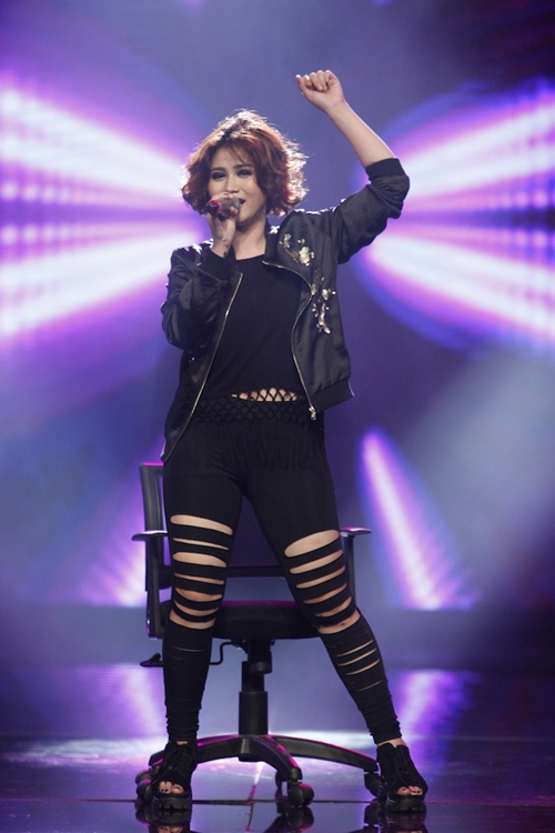 "vietnam idol: dong nhi dep ""hop hon"", janice phuong khien thu minh kham phuc - 14"