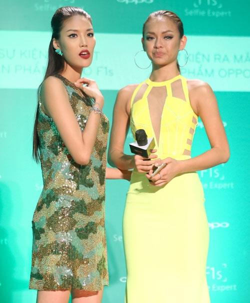 "tv show tuan qua: huong - khue ""that the"" duoi tay ha ho, vietnam idol gap su co - 8"