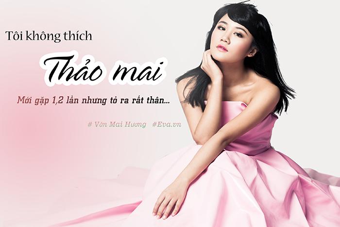 "van mai huong: ""gia dinh ban trai tung khong may thien cam ve nghe cua toi"" - 1"