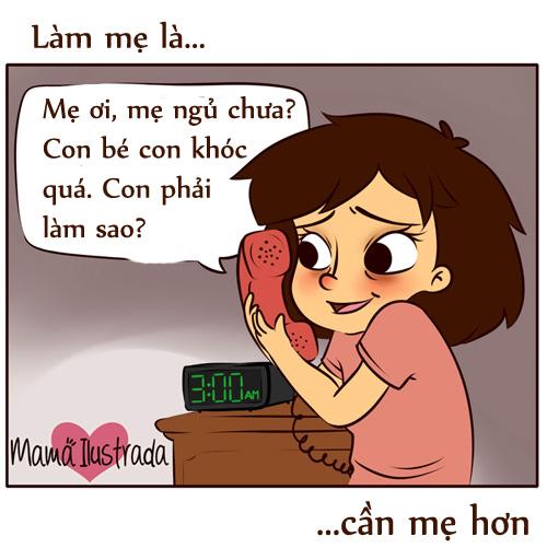 "ngay vu lan: chi em bim sua thay chinh minh trong bo tranh ""lam me la..."" - 5"
