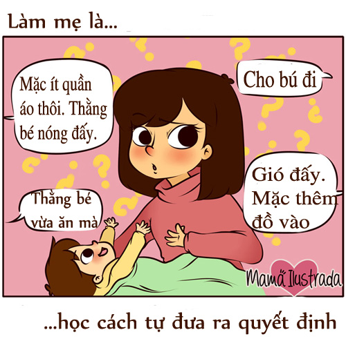 "ngay vu lan: chi em bim sua thay chinh minh trong bo tranh ""lam me la..."" - 6"