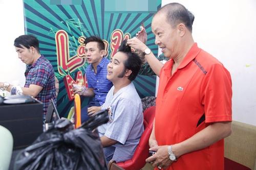 """duc hai khoe dang """"bung phe"""" dang yeu ben viet huong, bach long - 12"""