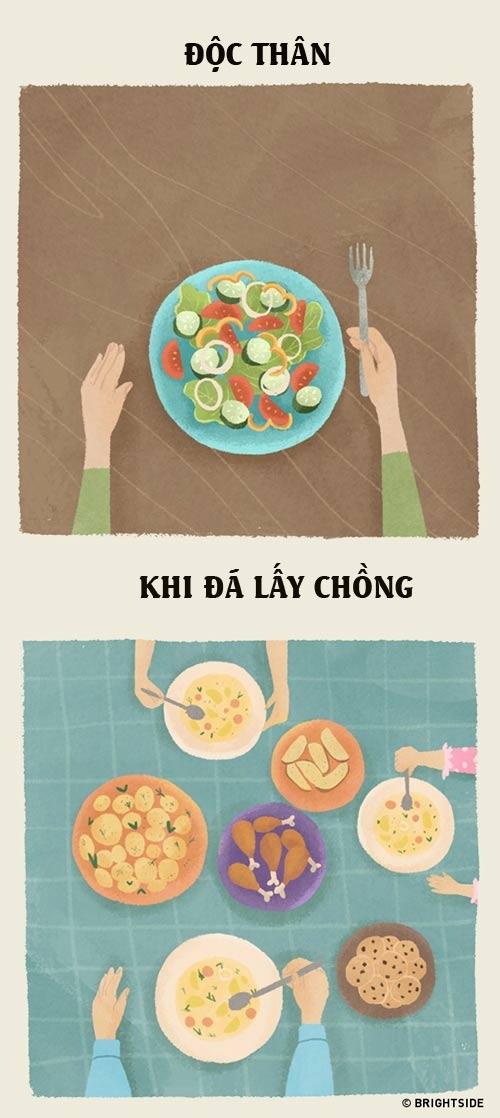 su khac nhau giua phu nu co chong va chua chong - 3