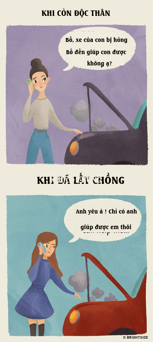 su khac nhau giua phu nu co chong va chua chong - 7