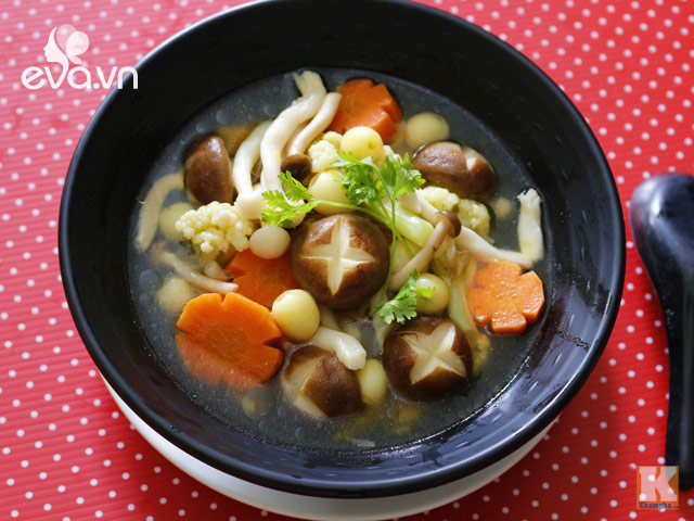 Image result for canh nấm chay
