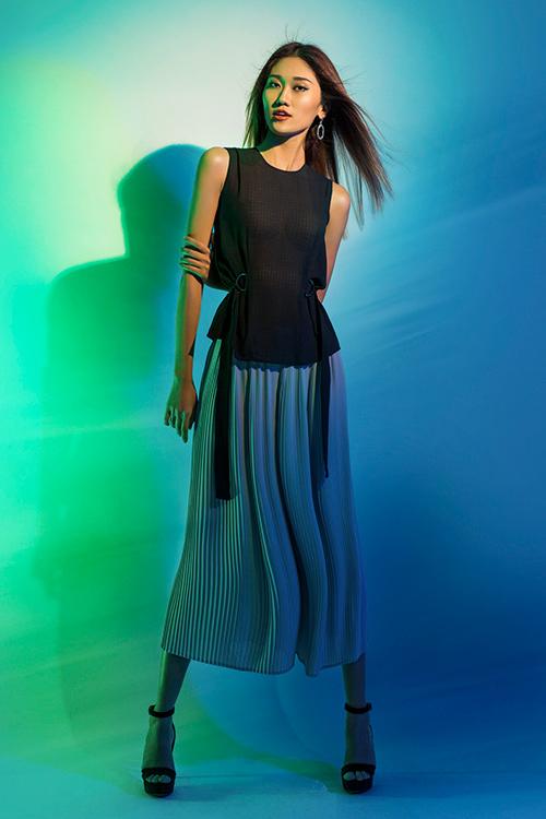 next top model: chinh anh qua da, hot girl 1m55 chan bong dai nhu 1m7 - 5