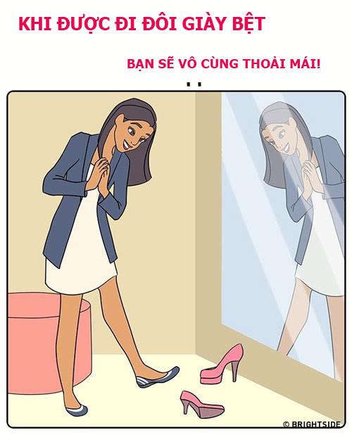that ra, cac co nang thich di giay cao got cung chang sung suong gi! - 11