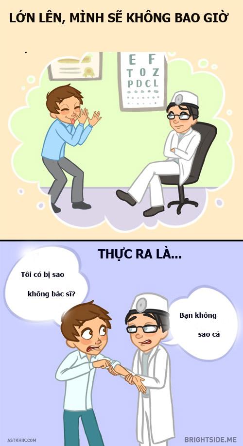 9 su that 'nga ngua' ma luc be luon nghi lon len se khong bao gio lam lai... - 2