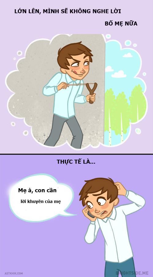 9 su that 'nga ngua' ma luc be luon nghi lon len se khong bao gio lam lai... - 9