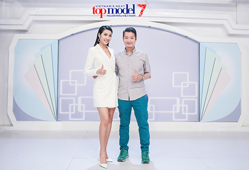 thi sinh next top lao dao vi a hau thuy van hoi xoay - 9