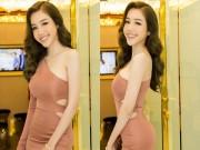 """Làng sao - Elly Trần diện váy sexy """"trốn"""" chồng con đi sự kiện"""