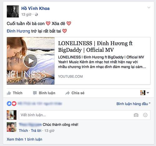 lan khue bat ngo ung ho bigdaddy 'phan boi' dinh huong - 5