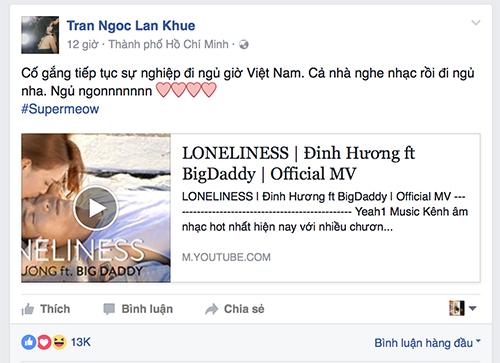 lan khue bat ngo ung ho bigdaddy 'phan boi' dinh huong - 9