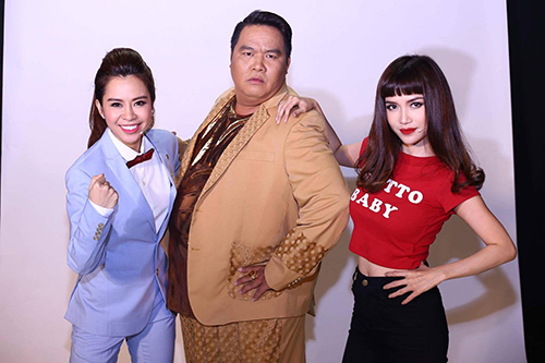 "ky phung dich thu: ngoc trinh bat ngo bi si thanh gia trai ""cuong hon"" - 1"