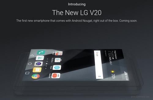 xac nhan lg v20 chay android 7.0 nougat khi ra mat - 1