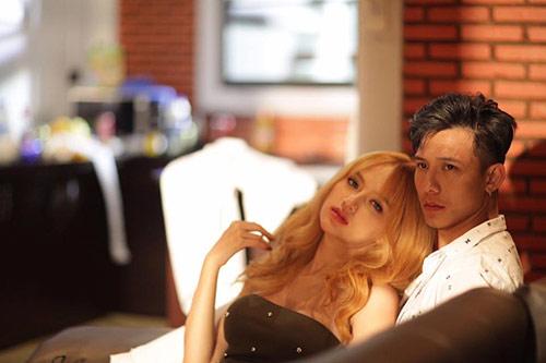 """bi """"so gay"""", huong giang idol cat 50% canh nong trong mv moi - 11"""